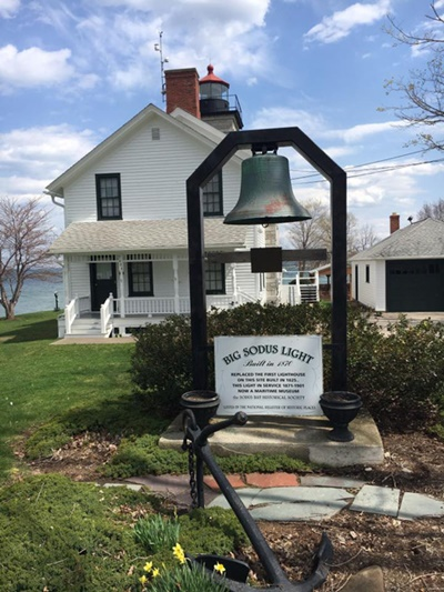 Big Sodus Light <i>- by Tracy Burkovich</i>