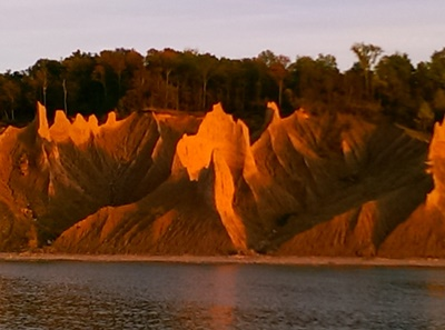 Climney Bluffs <i>- by Belinda McElroy</i>