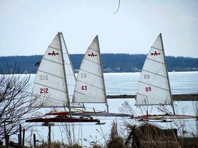 ce Sailing on Sodus Bay <i>- by Chris Trine</i>