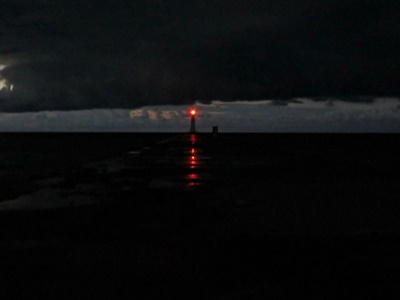 Nightlight, Pier Light <i>- by Cathy Contant</i>