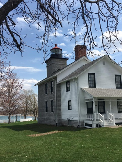Sodus Bay Lighthouse Museum <i>- by Tracy Burkovich</i>