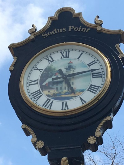 Sodus Point Clock <i>- by Tracy Burkovich</i>