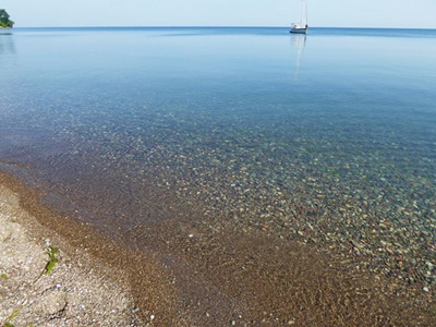 Calm Waters on Lake Ontario <i>- by Cathy Contant</i>